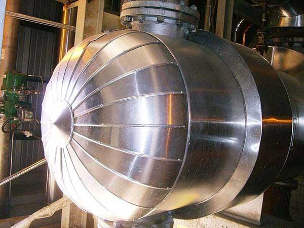 Qualidade do isolamento t rmico industrial para alta for Isolamento termico alta temperatura